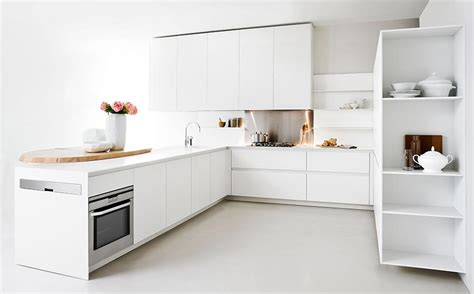 Minimalist Kitchen Design For Small Space Modern Kitchen With Space Saving Solutions Design Ideas