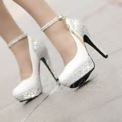 wedding shoes heels high heels platform tassel wihte wedding shoes small one yard tbdress