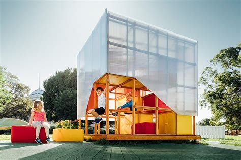 home design expo melbourne grimshaw develops reconfigurable cubby house concept