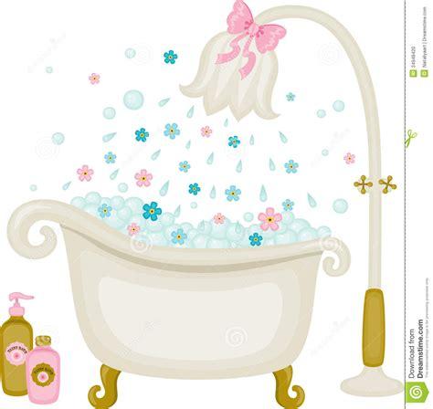bathtub illustration vintage bath illustration stock photo image 34948420