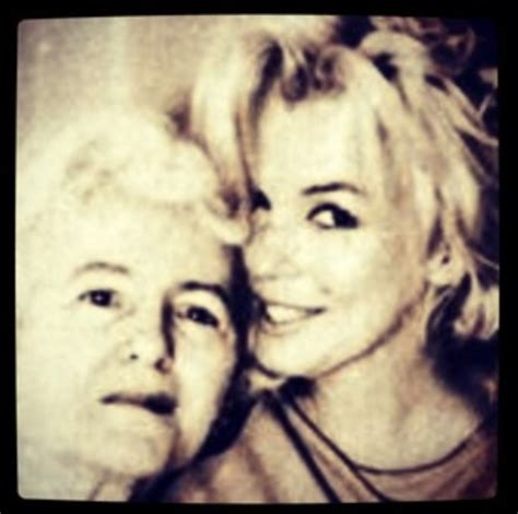 marilyn monroe s mother marilyn monroe and her mum iconic hollywood starlet