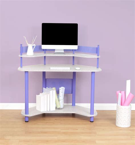 Purple Corner Desk Studio Designs Calico Study Corner Desk Purple