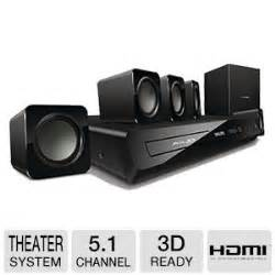 philips 3d 5 1 home theater system hd 3d