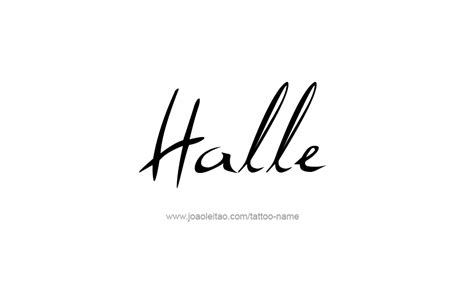 halle name