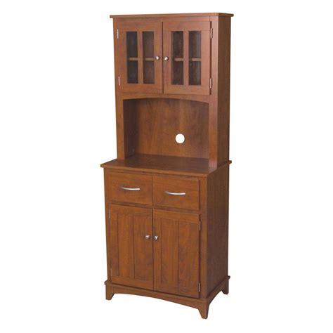 oak microwave mahogany cabinet pantry cabinets at