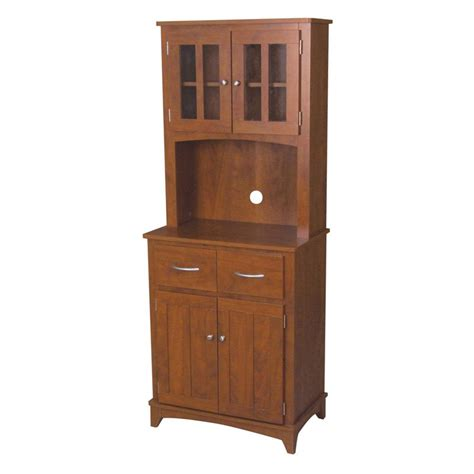 oak microwave mahogany cabinet pantry cabinets at
