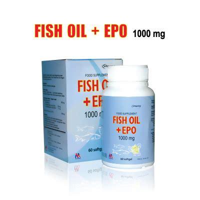 Vitayang Fish Epo 100mg Suplemen Omega 3 6 fish epo distributor produk kk indonesia