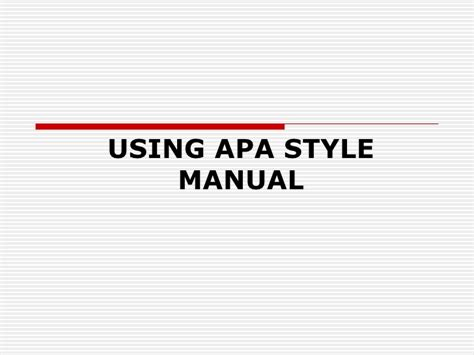 apa format lecture notes apa style