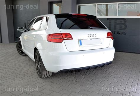 Audi Rs3 Diffuser by Audi A3 Sportback 8pa Rear Diffuser Diffuser Rs3 Look 08