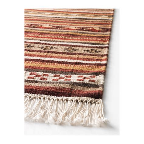 kelim ikea kattrup rug flatwoven handmade multicolour 140x200 cm