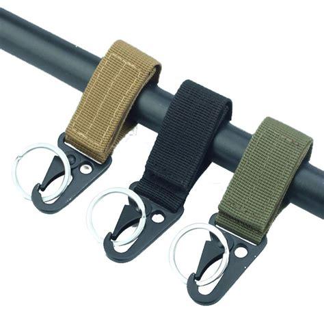 Buckle Hook Botol Minum Edc Backpack Hanger Carabiner Tactical Keychain Backpack Hooks Webbing Molle Buckle Hanging Edc