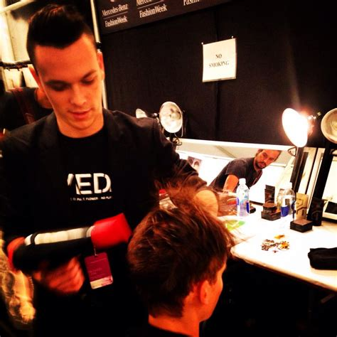 Backstage With Kevin Frank Rizzieri At Thakoon by Adventures In Working Backstage Destroy The Hairdresser