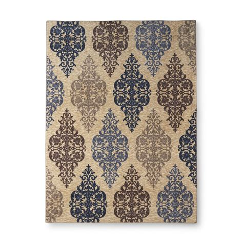 maples industries rugs upc 010892610195 essential home gallery damask area rug 5 x 7 maples industries inc