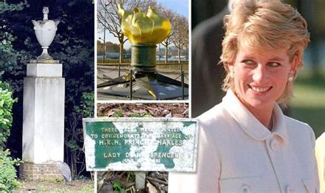 diana grave princess diana memorials in disrepair as anniversary of approachs royal news