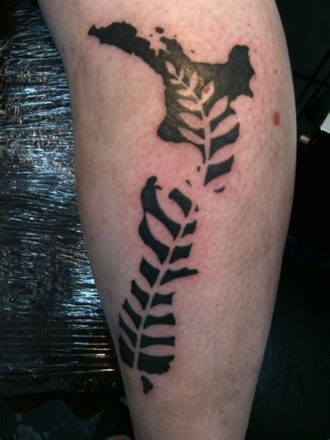 silver fern tattoo designs 38 best images about fern on leaf