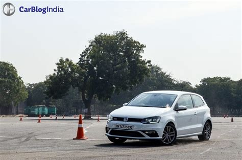 volkswagen polo test drive volkswagen polo gti test drive review carblogindia