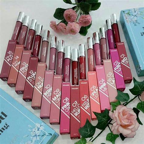 Lipstik Wardah No 18 wardah exclusive matte lip no 1 18 best seller