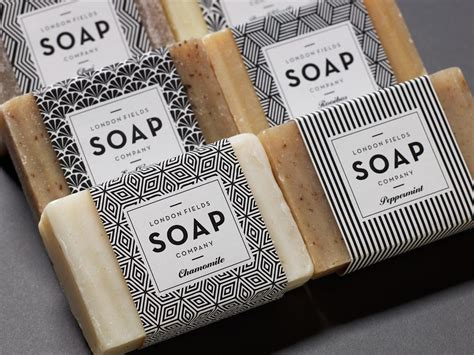 Handmade Soap Names - fields soap company the dieline branding