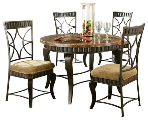 hamlyn dining room set steve silver furniture steve silver hamlyn 6 piece