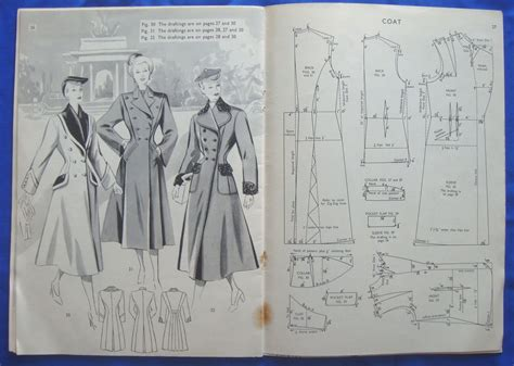 drafting pattern making books vintage haslam system of dresscutting drafting system