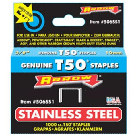 stainless steel staples for marine upholstery staples stainless steel rust resistant t50 by arrow up