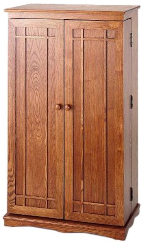 oak storage cabinet with doors home furniture design