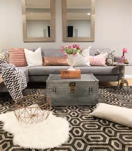 Modern Chic Living Room Ideas Chic Design Modern Boho Basement Small Apartment Living Basements Boho