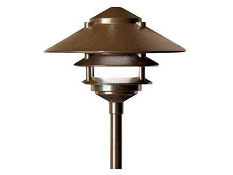 fx luminaire dellaribalta sedona brown 20 watt 2 tier pathlight dr 20 2t 12r sb