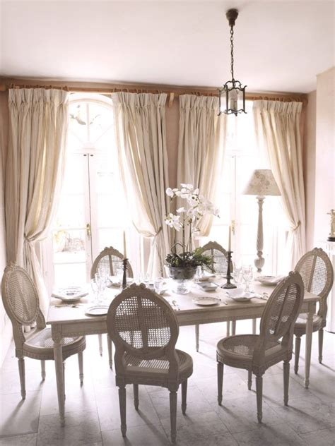 charcoal stripe curtains country dining rooms dining