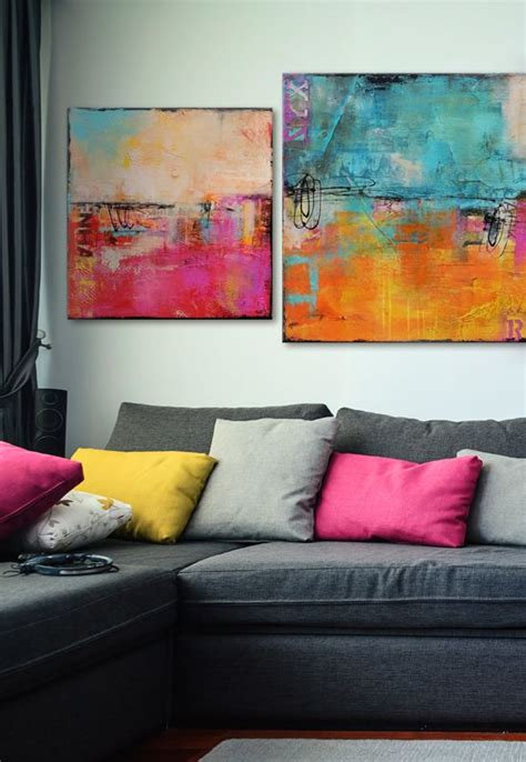 Colourful Arts Series 17 17 best ideas about living room artwork on