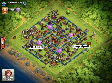 earthquake coc come usare incantesimo terremoto su clash of clans