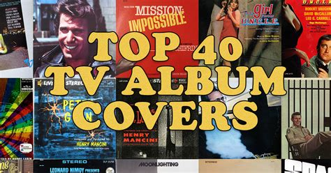 best record covers the 40 best television soundtrack album covers