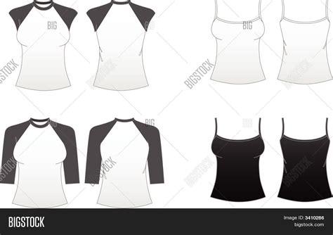 Tshirt Series Bigsize Ld 100 Cm s fitted t shirt templates vector photo bigstock