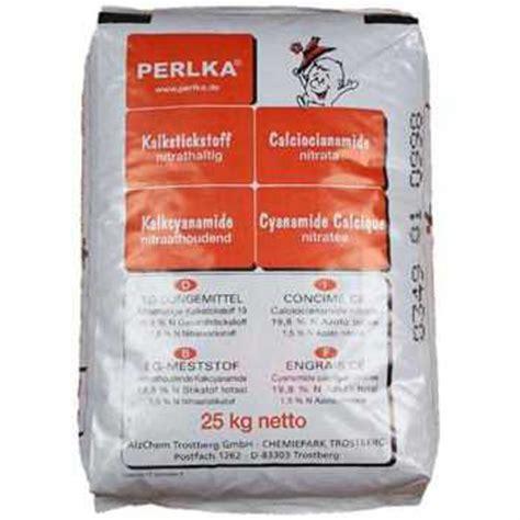 kalkstickstoff perlka kalkbasierter stickstoffduenger und