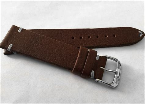 Noir Leather Handstrap Brown New Item 18mm Rios1931 Brown Vintage Leather