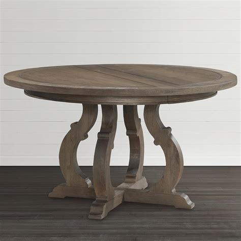 round dining bench artisan round dining table bassett home furnishings