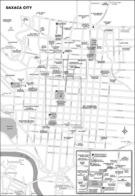 Oaxaca City Mexico City Map - Oaxaca Mexico • mappery