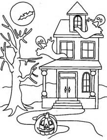haunted house coloring pages haunted houses holidays and observances