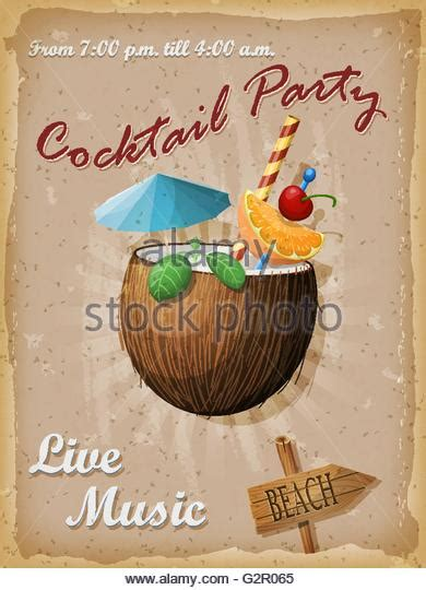 vintage cocktail party illustration cocktail party 1950s stock photos cocktail party 1950s