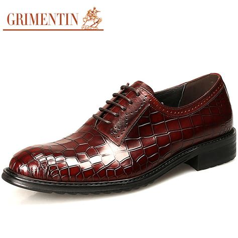 2015 italian high top mens dress shoes genuine leather