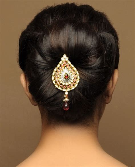 indian hairstyles french roll 5 hairstyle ideas for indian wedding latest handmade