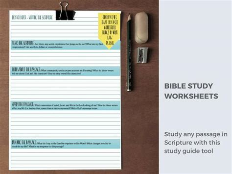 Bible Study Printable Bible Worksheets Inductive Bible Creating A Study Guide Template