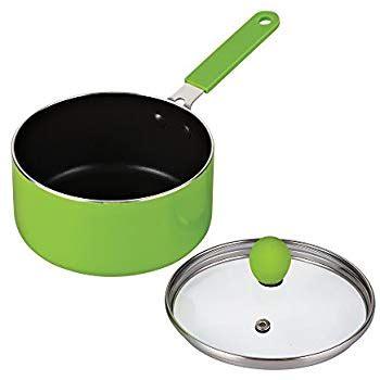 1 quart ceramic saucepan with lid cook n home 1 quart mini size nonstick