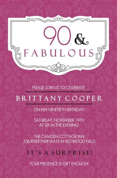 70th Birthday Invitations Free Printable