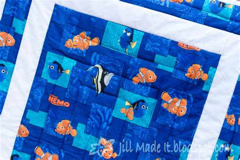 Nemo Quilt by Made It The Finding Nemo Baby Quilt