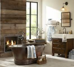 Rustic Bathroom Decorating Ideas by 44 Rustic Barn Bathroom Design Ideas Digsdigs