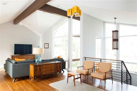 mid century moderne wohnzimmer mid century modern lighting living room midcentury with