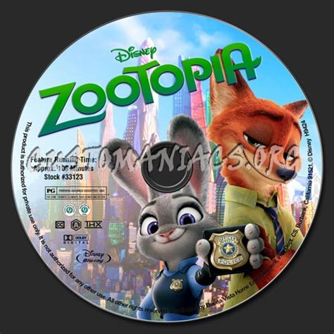 download film zootopia blu ray zootopia blu ray label dvd covers labels by