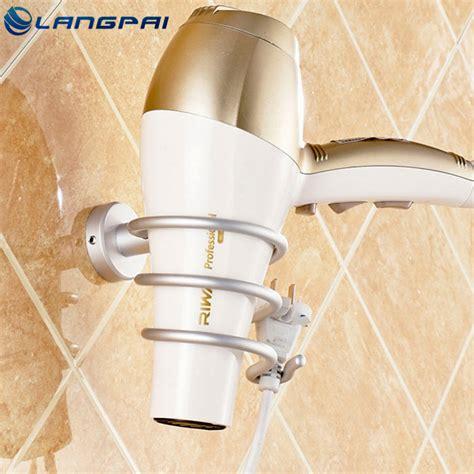 Modern Elements Hair Dryer Customer Service langpai bathroom accessories hair dryer holder modern wall