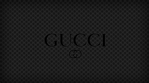 black gucci pattern gucci logo wallpaper wallpapersafari